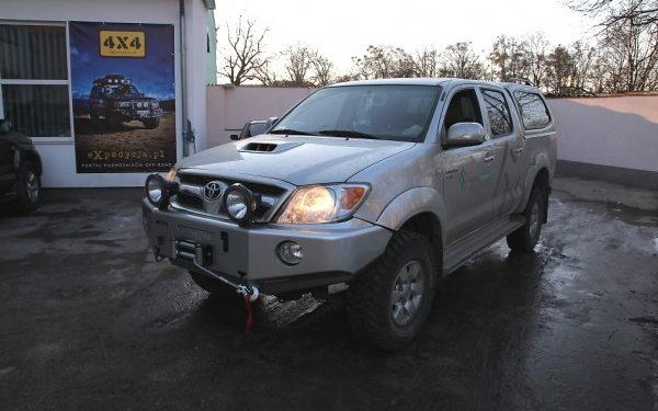 Toyota Hilux + Afn, More 4x4, Ledhider I Ome