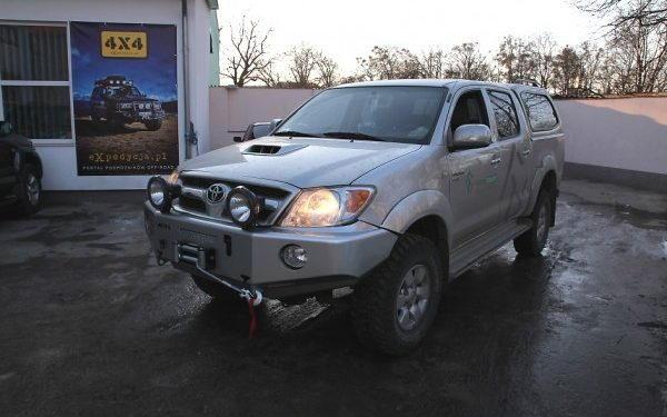 Toyota Hilux + Afn, More 4x4, Ledhider I Ome