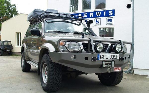 Nissan Patrol Na Afrykę