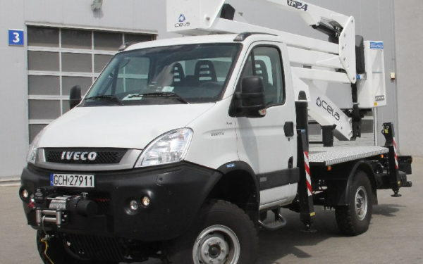 Iveco Daily 4x4 + Superwinch