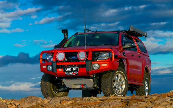 Ford Ranger Summit Protection Range Fitout