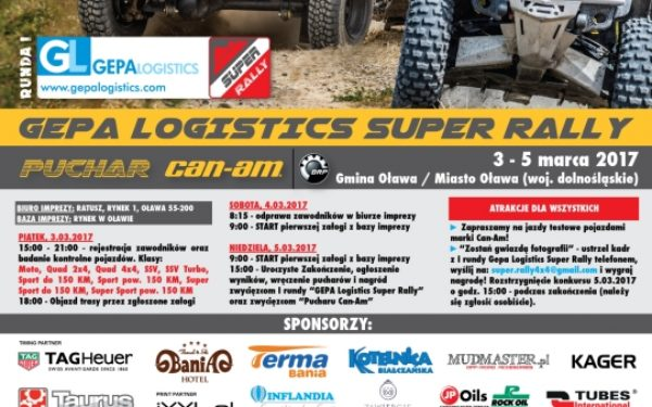 I Runda Gepa Logistics Super Rally
