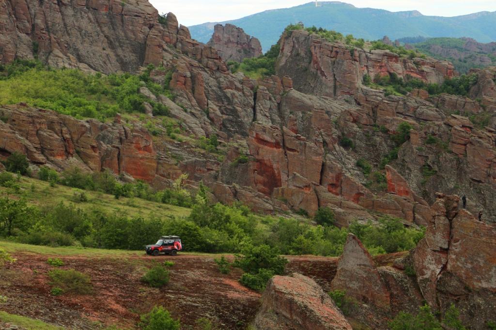 BuŁgaria Góry, Jaskinie, Terenówki