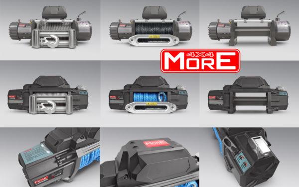 Nowe Wyciągarki More4x4