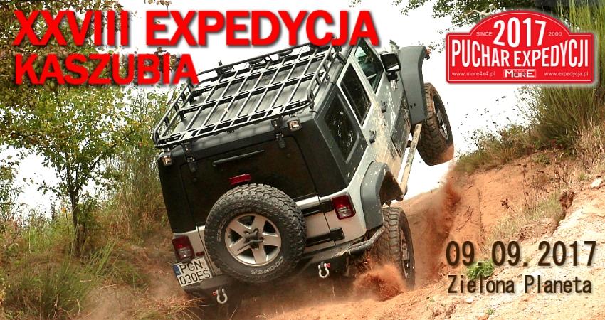 Xxviii Expedycja Kaszubia 09.09.2017 Zielona Planeta – Przygotowania Trasy Już ZaNami