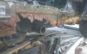 Nissan Patrol Y60 Long – Rekonstrukcja Blacharki