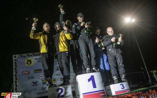 Podium Dla Załogi Rmf 4racing Team Na Baja Szczecinek