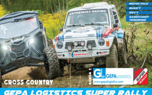 7. Runda Gepa Logistics Super Rally 22 24.09.2017