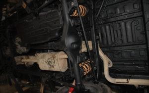 Toyota Land Cruiser J120 Konserwacja Podwozia