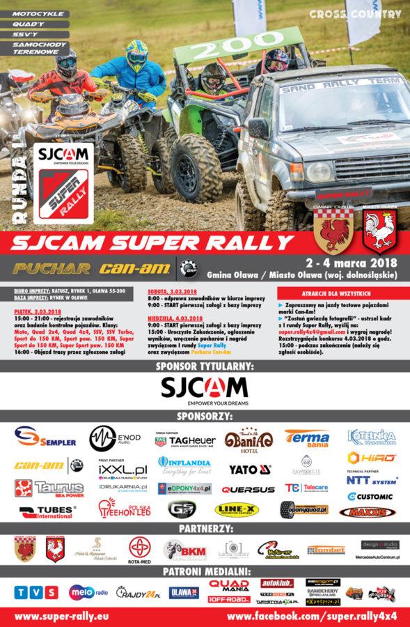I Runda Sjcam Super Rally OrazRunda Pucharu Can Am WGminie Oława