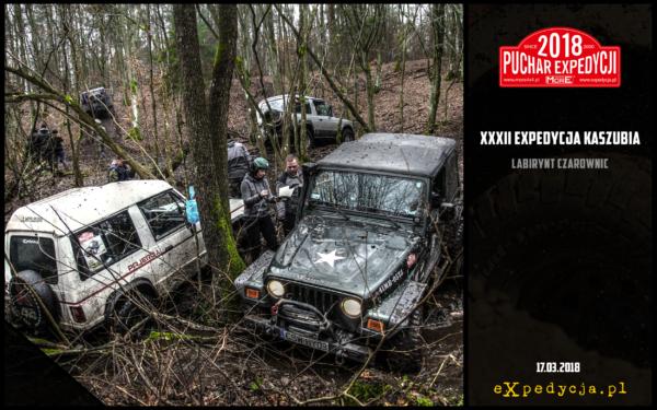Xxxii Expedycja Kaszubia – Labirynt Czarownic 17.03.2018 Druga Runda Pucharu Expedycji 2018