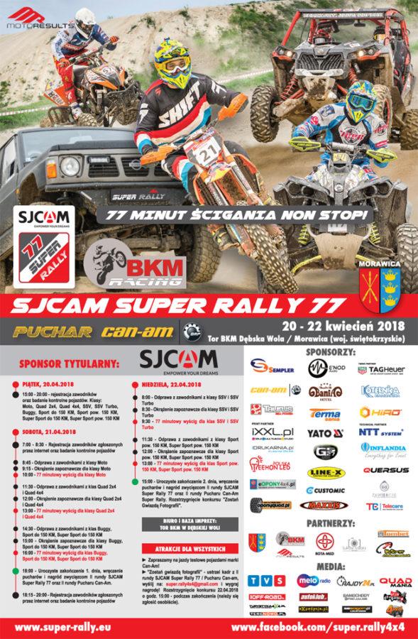 Ii Runda Sjcam Super Rally 77 IPuchar Can Am 77 Morawica