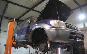 Toyota Land Cruiser J95 Sezonowa Renowacja