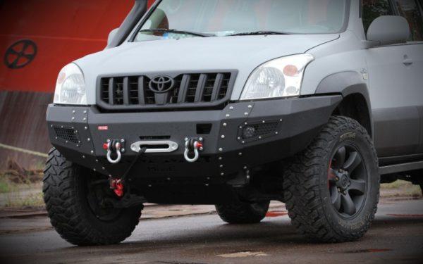Zderzaki Przednie I Tylne More 4x4 Do Toyoty Lc J120