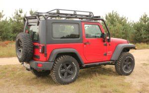 """Jeep Wrangler Jk """"czerwony Jak Cegła"""""""