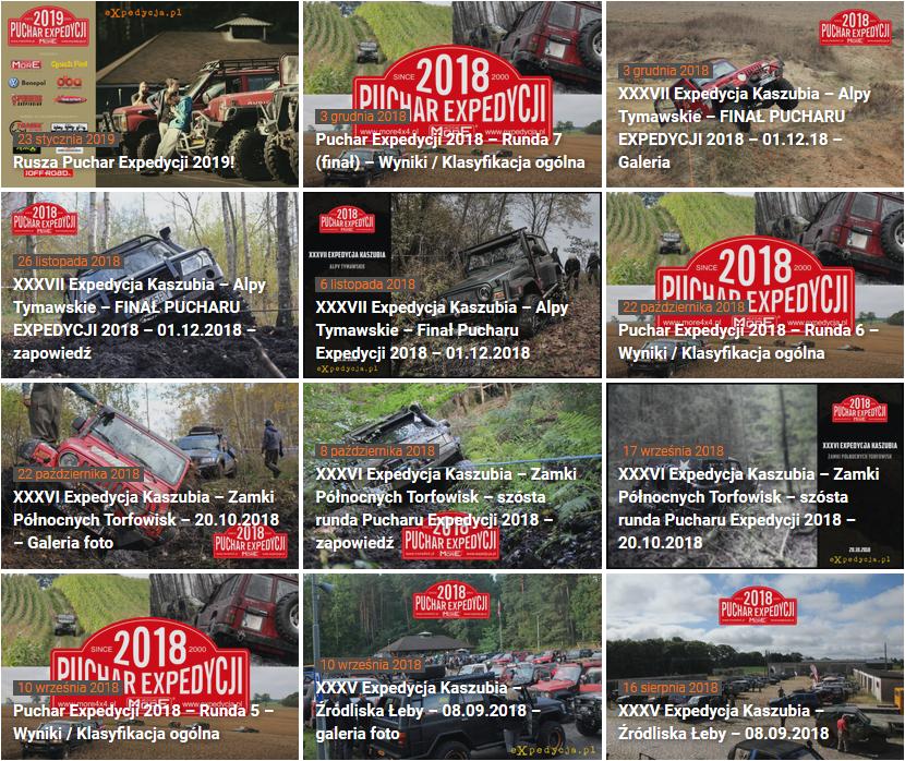 Xxxviii Expedycja Kaszubia – Upiorne Urwiska Pierwsza Runda Pucharu Expedycji 2019 06.04.2019