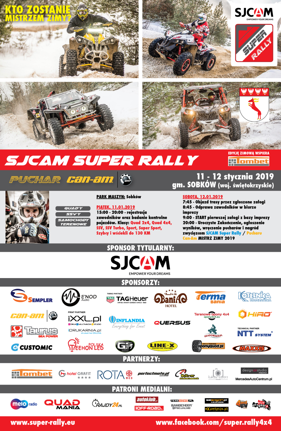 Rozpoczęcie Sezonu Sjcam Super Rally / Puchar Can Am