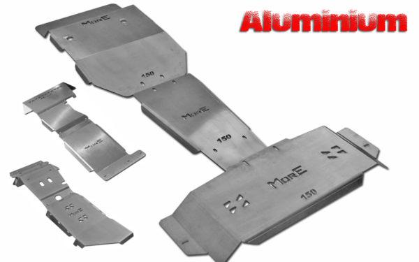 Zestawy Aluminiowych Osłon Podwozia
