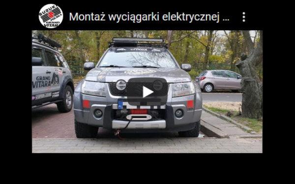 Suzuki Grand Vitara 2 05 08 Montaż Płyty Montażowej Wraz Z Wyciągarką More 4x4 (film)