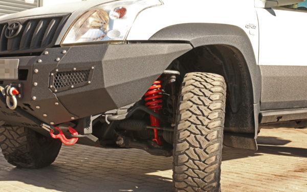 Toyota Land Cruiser J120 Modyfikacje Zawieszenia I Hamulców