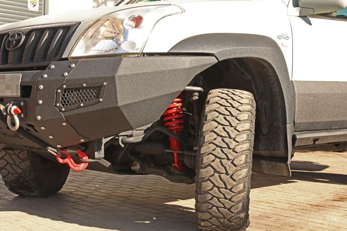 Toyota Land Cruiser J120 Modyfikacje Zawieszenia IHamulców