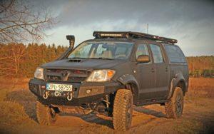 Toyota Hilux Vigo Czarny Ninja More 4x4 Expedycja.pl