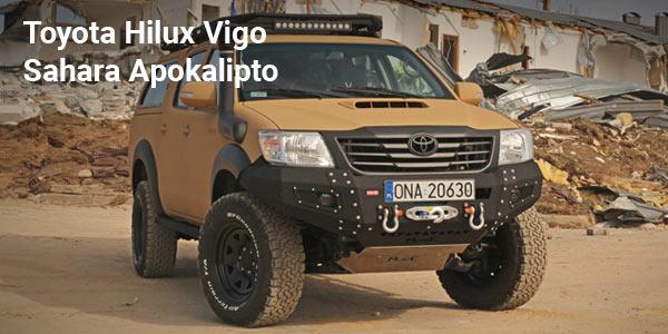 Toyota Hilux Vigo Sahara Apokalipto – Akcesoria off-road MorE 4×4