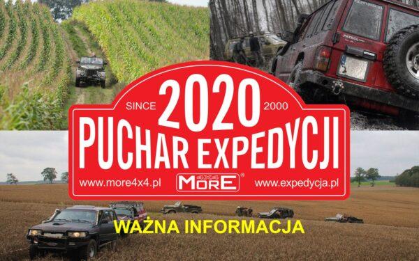 Puchar Expedycji 2020 Ostatnia Runda OdwoŁana! (covid 19)