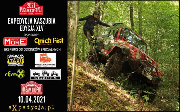 Puchar Expedycji 2021 Expedycja Kaszubia Edycja 45 (10.04.2021)