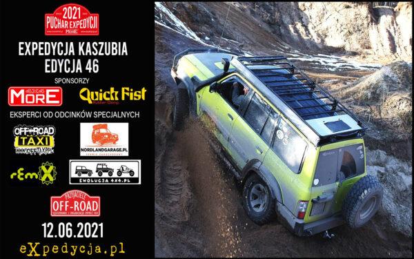 Puchar Expedycji 2021 Expedycja Kaszubia Edycja 46 (runda 3) Zapowiedź